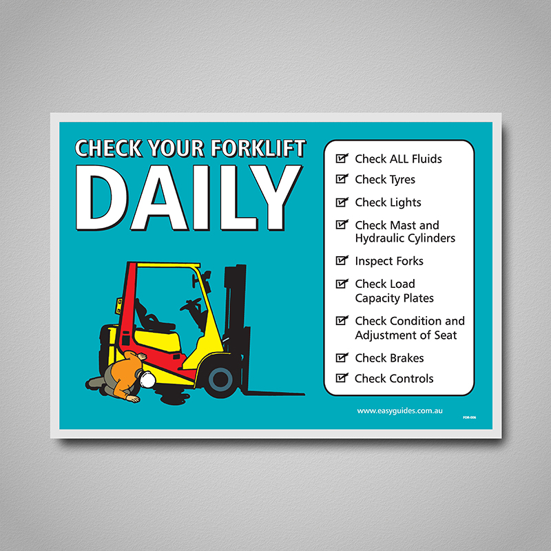 How to Check a Forklift for Safe Use
