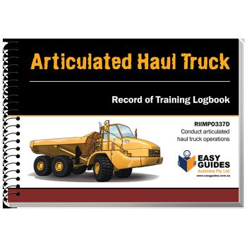 Articulated Haul Truck Logbook