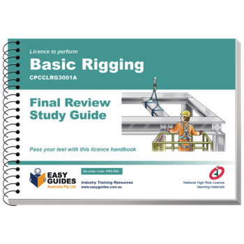 Basic Rigging Final Review Study Guide