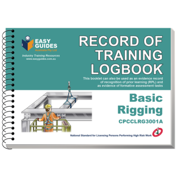Basic Rigging Logbook