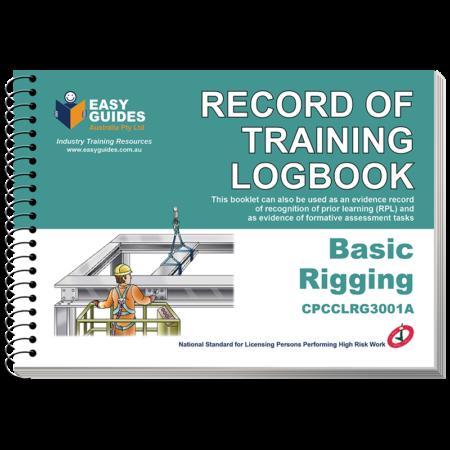 Basic Rigging Logbook