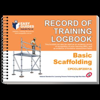 Basic Scaffolding Logbook