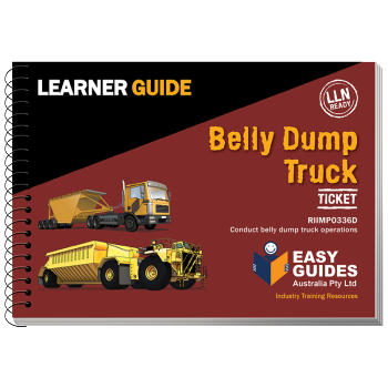 Belly Dump Truck Learner Guide