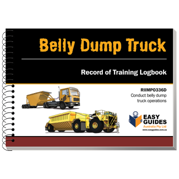 Belly Dump Truck Logbook