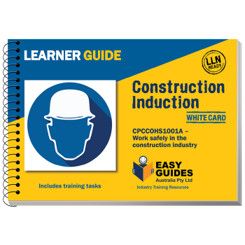 Construction Induction White Card Learner Guide