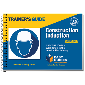 Construction Induction White Card Trainers Guide