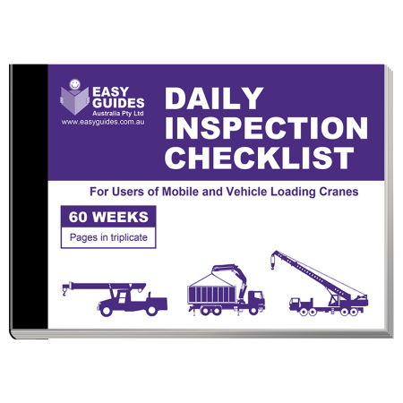 Cranes Daily Inspection Checklist