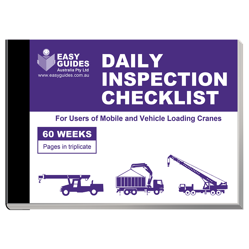 Checklist Books For Daily Inspection Practices | Order Online