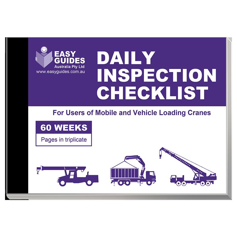mobile crane inspection checklist pdf