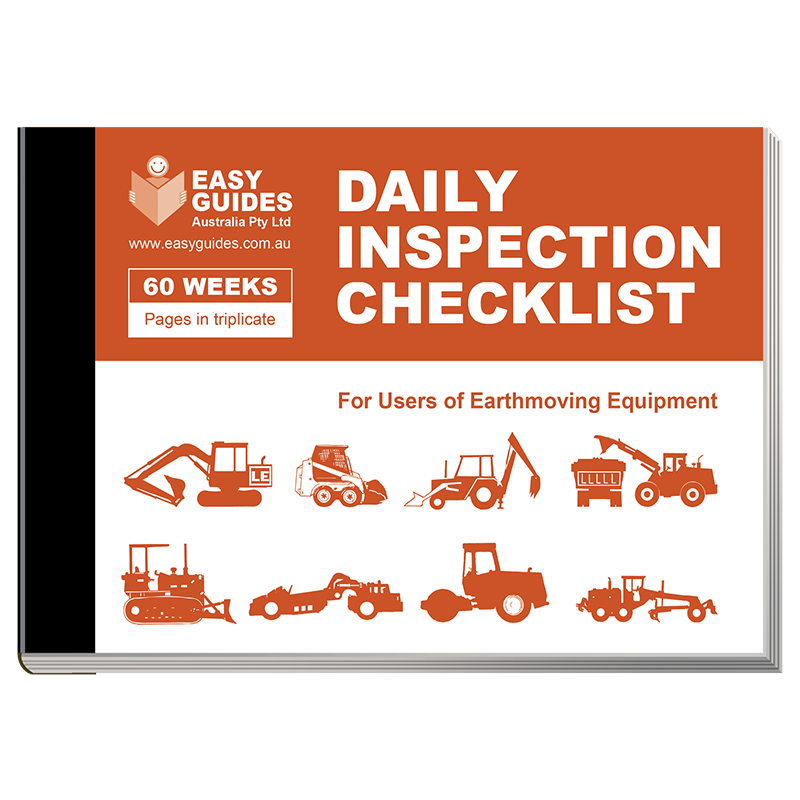 Daily Inspection Checklist for Earthmoving Equipment – Equipment Checklist