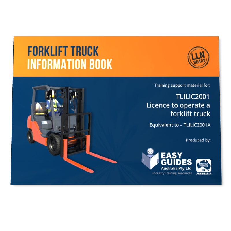 Forklift Study Guide Instructor Certification Training Materials