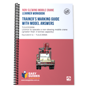 Non-slewing Mobile Crane - Final Review Study Guide