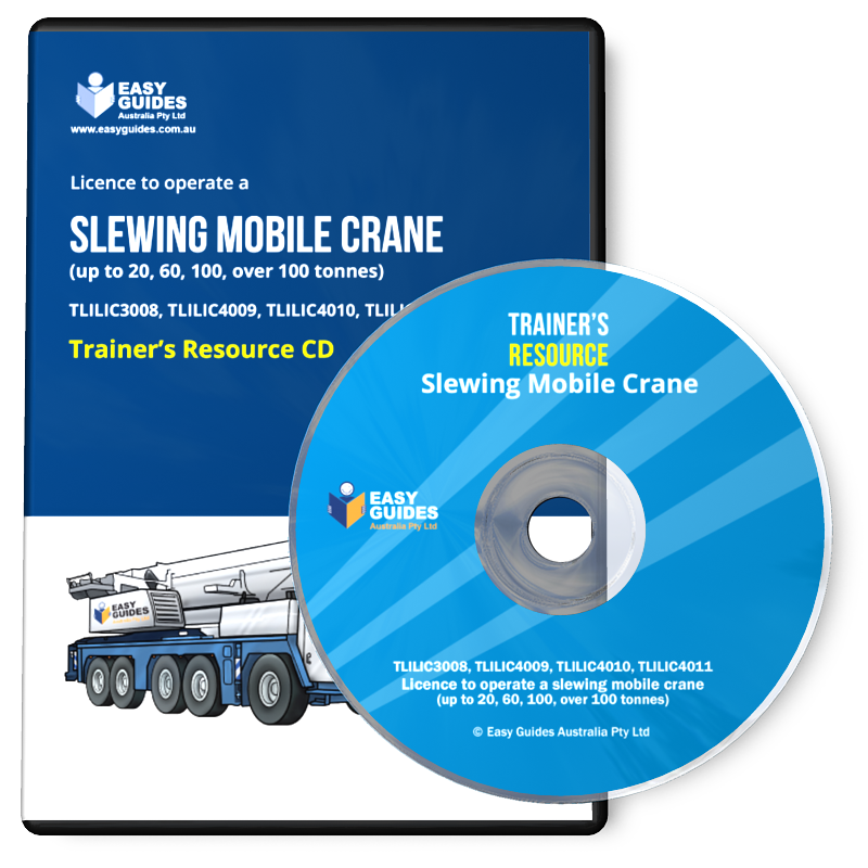 Mobile Crane Questions And Answers : Slewing mobile crane trainer s resource cd