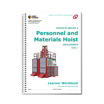 Personnel and Materials Hoist Learner Workbook