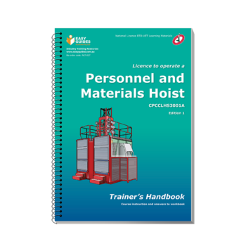 Personnel and Materials Hoist Trainers Handbook
