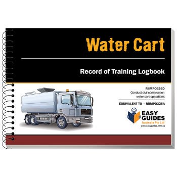 Water Cart Logbook
