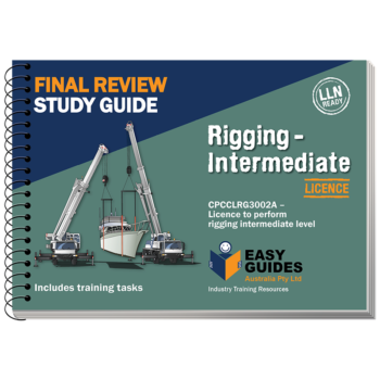 Intermediate Rigging Final Review Study Guide