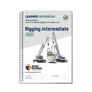 Intermediate Rigging Learner Workbook