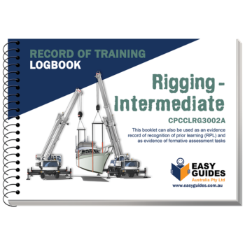 Intermediate Rigging Logbook