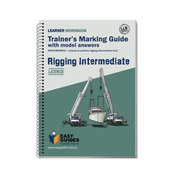 Intermediate Rigging Trainers Marking Guide