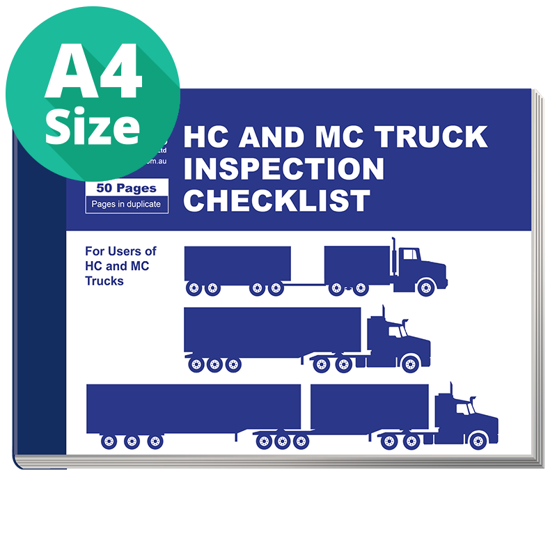 Daily Inspection Checklist For Hc And Mc Trucks