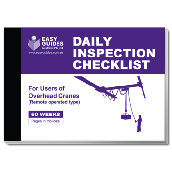 Checklist Books For Daily Inspection Practices Order Online
