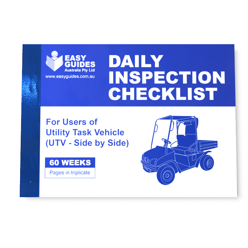 daily vehicle inspection checklist